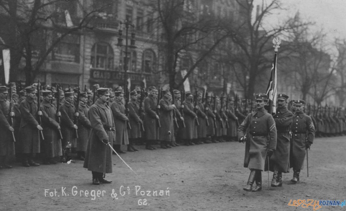 Zaprzysiężenie Strazy Ludowej na Placu Wolności  Foto: Kazimierz Greger