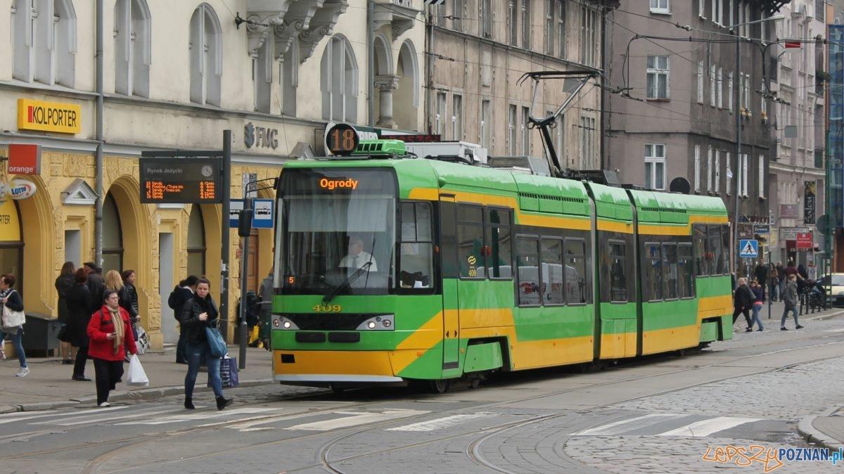 Tramwaj - Dąbrowskiego Foto: Tomasz Dworek