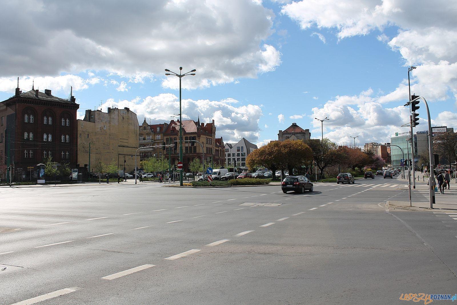 Najgorsze skrzyżowanie w Poznaniu?  Foto: Rada Osiedla Stare Miasto