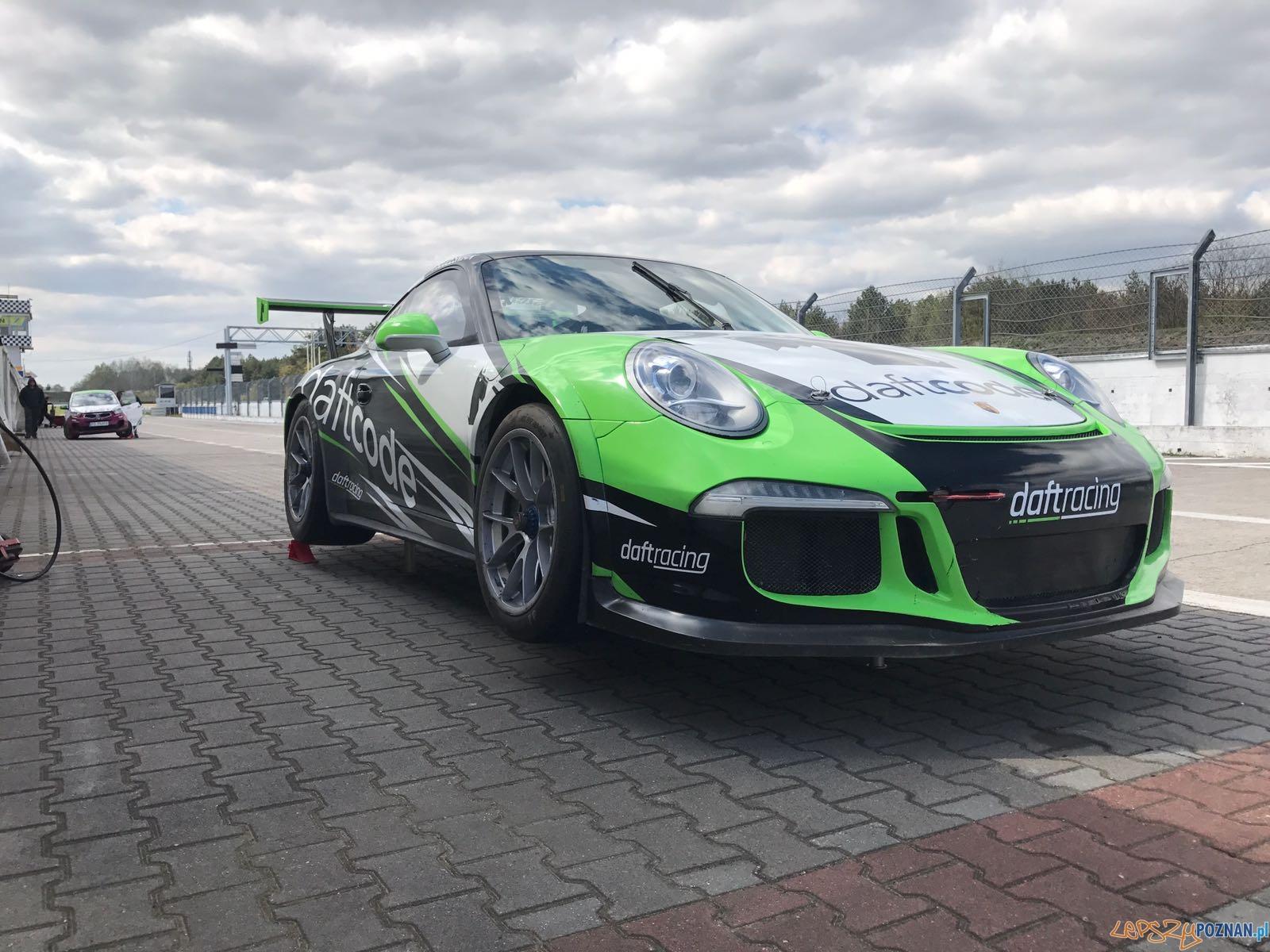 Porsche 991 GT3 Cup reprezentacji Daftracing  Foto: materiały prasowe