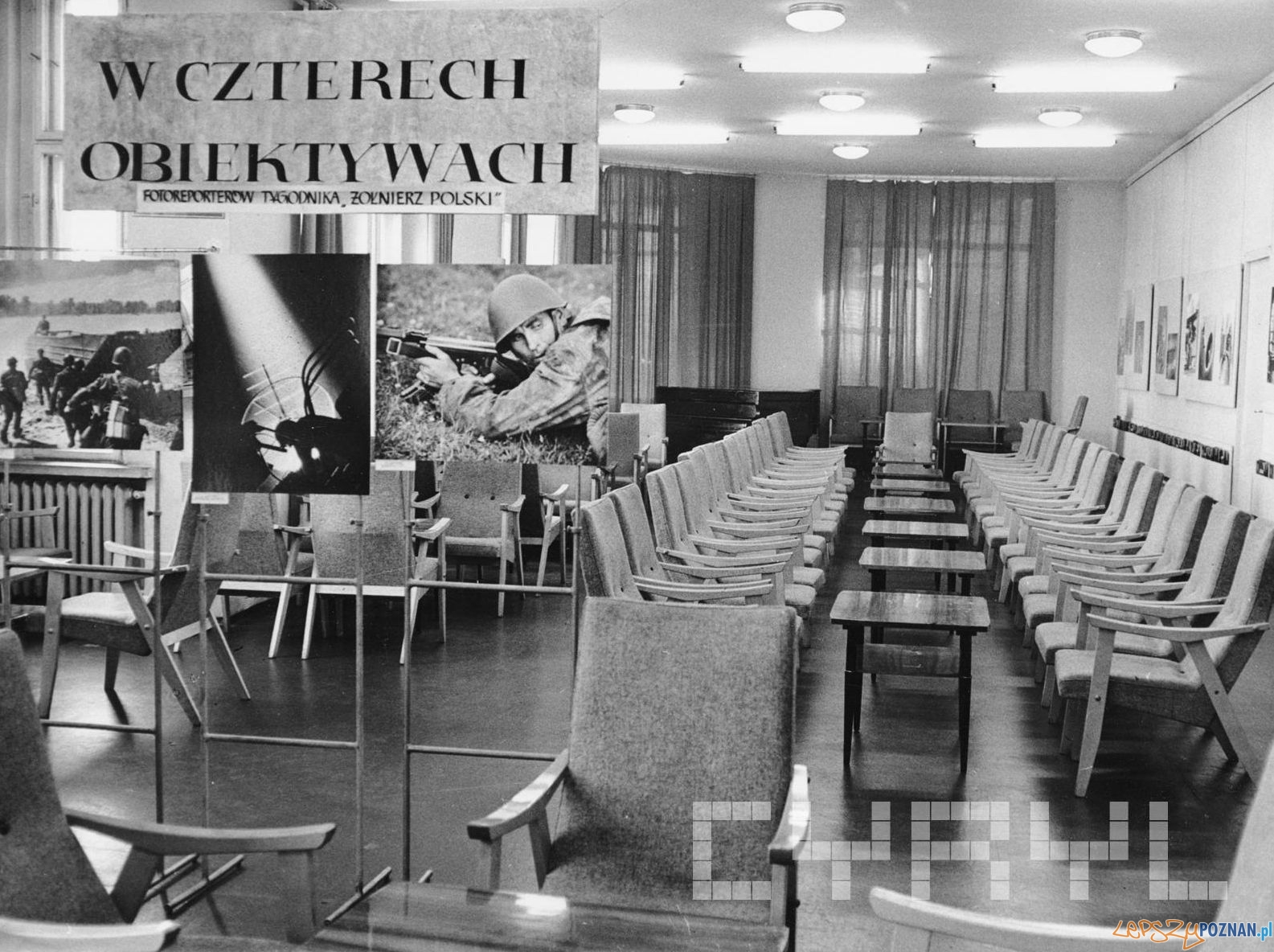 Czytelnia - Empik Klub Międzynarodowej Prasy i Książki 1966  Foto: Cyryl / Kronika Miasta Poznania