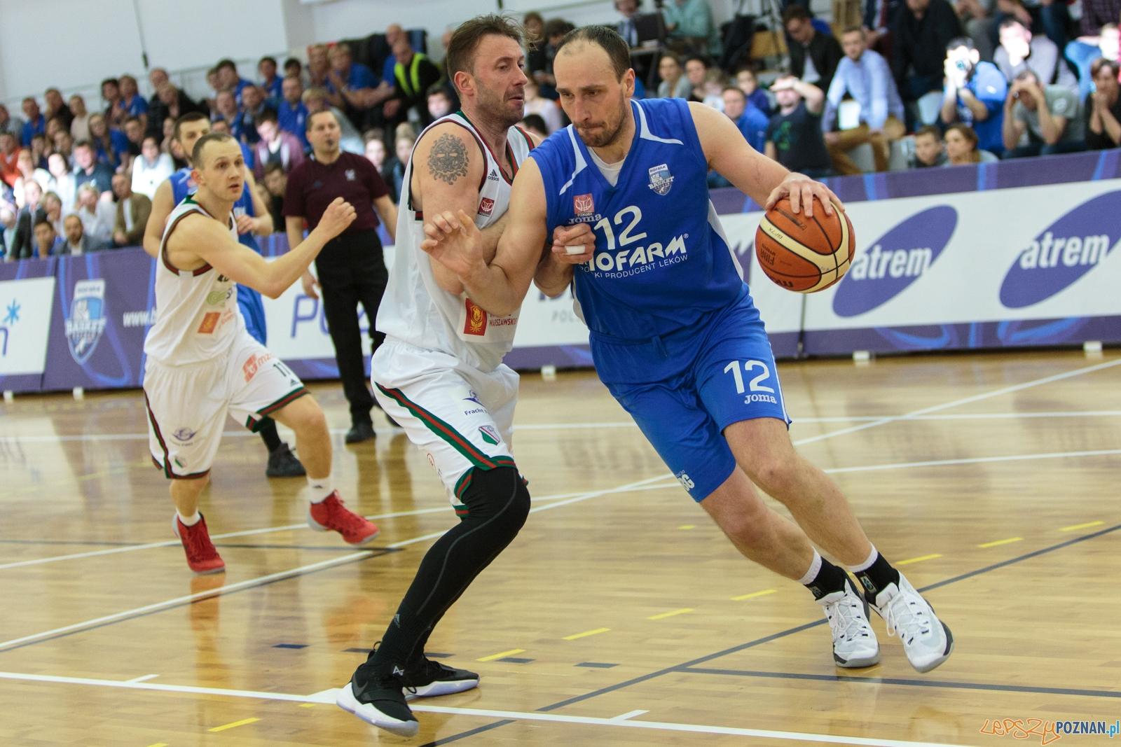 PlayOff: Biofarm Basket Poznań - Legia Warszawa 77:82  Foto: LepszyPOZNAN.pl / Paweł Rychter