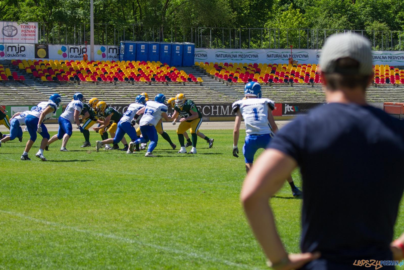 Kozły Poznań - Archers Bydgoszcz (27.05.2017) stadion Golęcin  Foto: © lepszyPOZNAN.pl / Karolina Kiraga