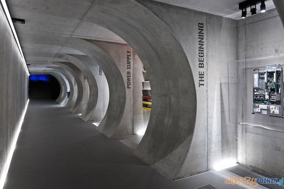 Trasa edukacyjna - serwerownia Beyond  Foto: Marcin 'Dobermann' Pflanz / materiały prasowe