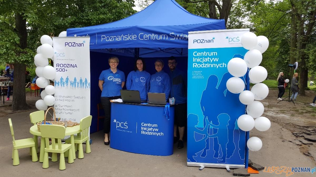 Promocja działań Poznańskiego Centrum Świadczeń  Foto: Poznańskie Centrum Świadczeń