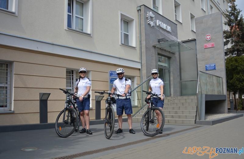 Szkieły na kole!  Foto: KMP w Poznaniu