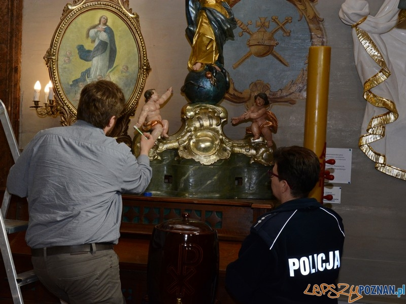 Ochrona cennych zabytków kościelnych  Foto: KMP Poznań