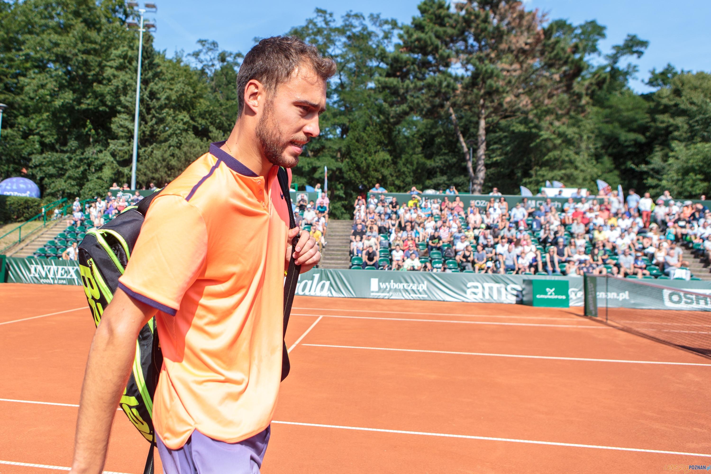 Jaume Munar (ESP) vs Jerzy Janowicz (POL) - Poznań Open 2017 -  Foto: Pawel Rychter