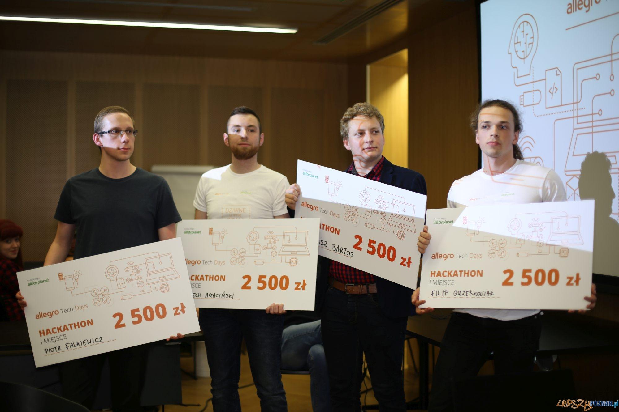 Poznaniacy Wygrali Ogolnopolski Hackathon Allegro Tech Days Lepszy Poznan Informacje Z Twojego Fyrtla