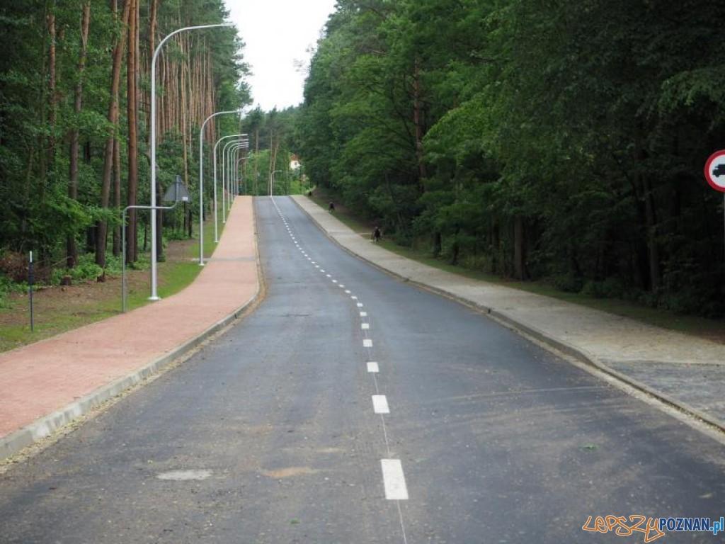 Nowa droga między Kicinem a Czerwonakiem  Foto: Gmina Czerwonak