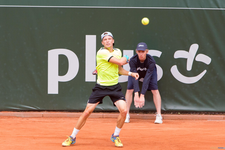 Guido Andreozzi (ARG) vs Alexey Vatutin (RUS)  Foto: lepszyPOZNAN.pl/Piotr Rychter