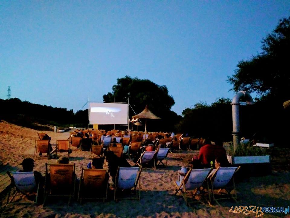 Kino plenerowe na plaży - Luboń  Foto: UMiG Luboń