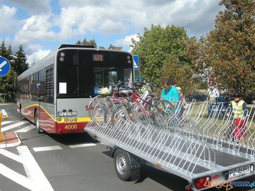 Rowerowy autobus  Foto: Powiat Poznański