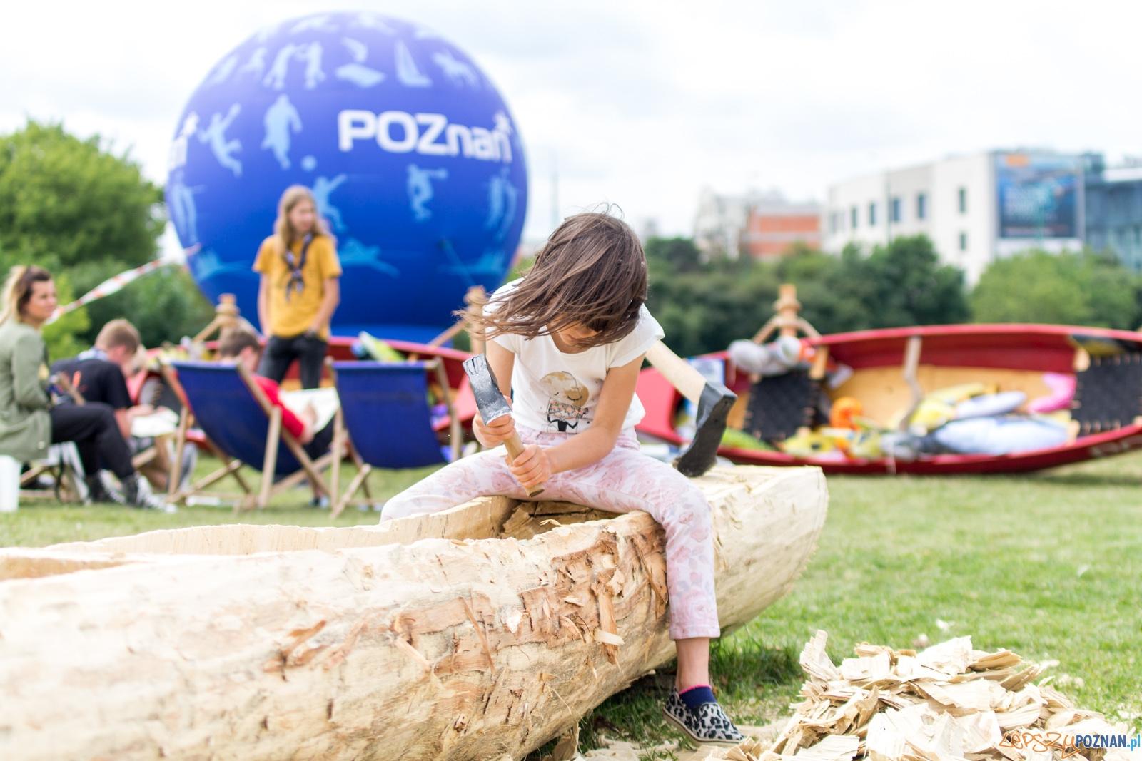"""Turystyczno-rekreacyjne regaty """"Rzeczny Match Racing""""  Foto: lepszyPOZNAN.pl / Ewelina Jaśkowiak"""