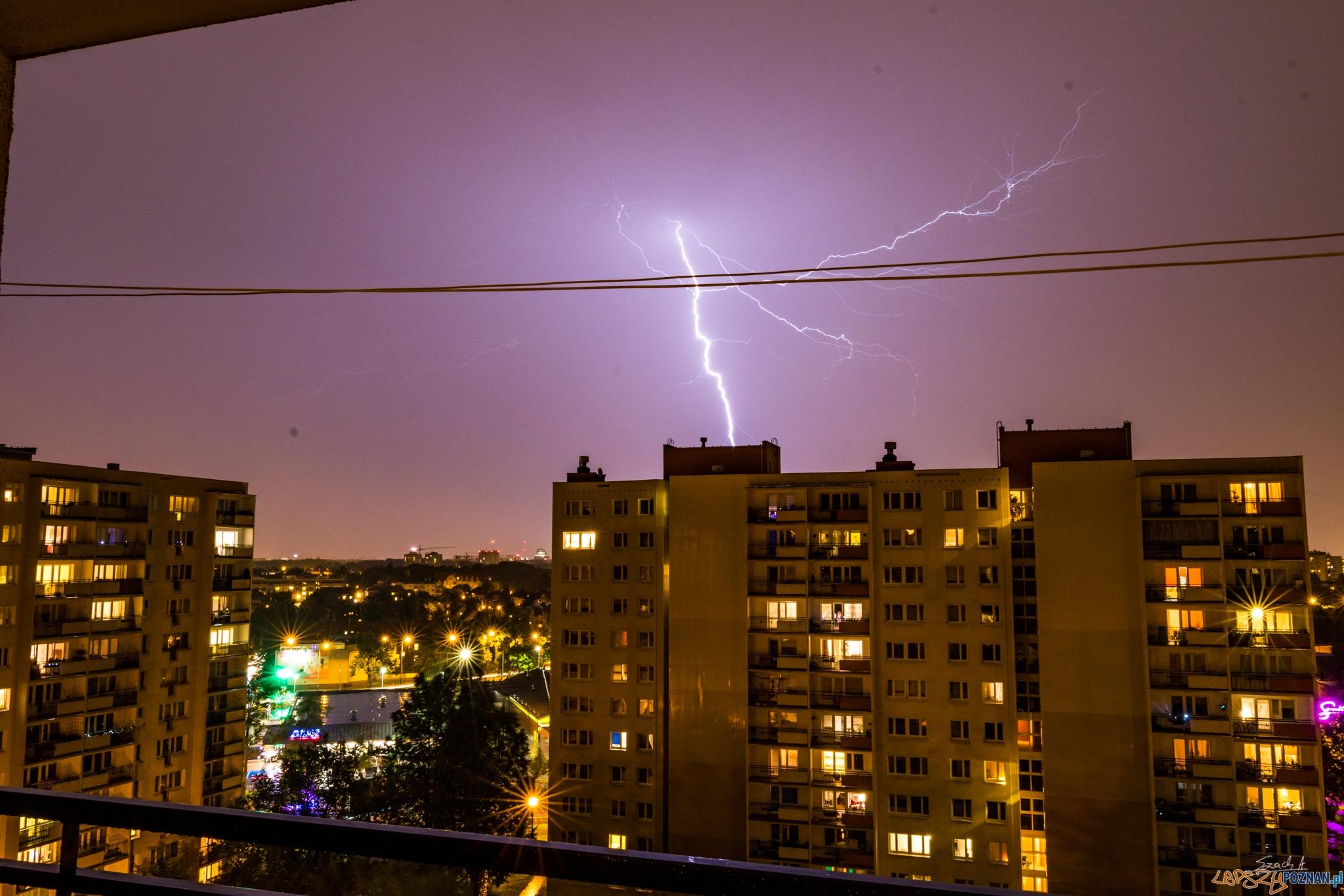 Burza nad Poznaniem - 10.08.2017  Foto: ADAM SZACH
