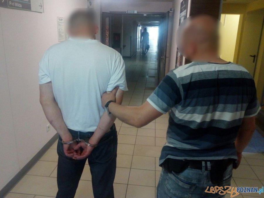 Tłumaczył, że cierpi na bezsenność, ale po prostu kradł  Foto: KMP w Poznaniu