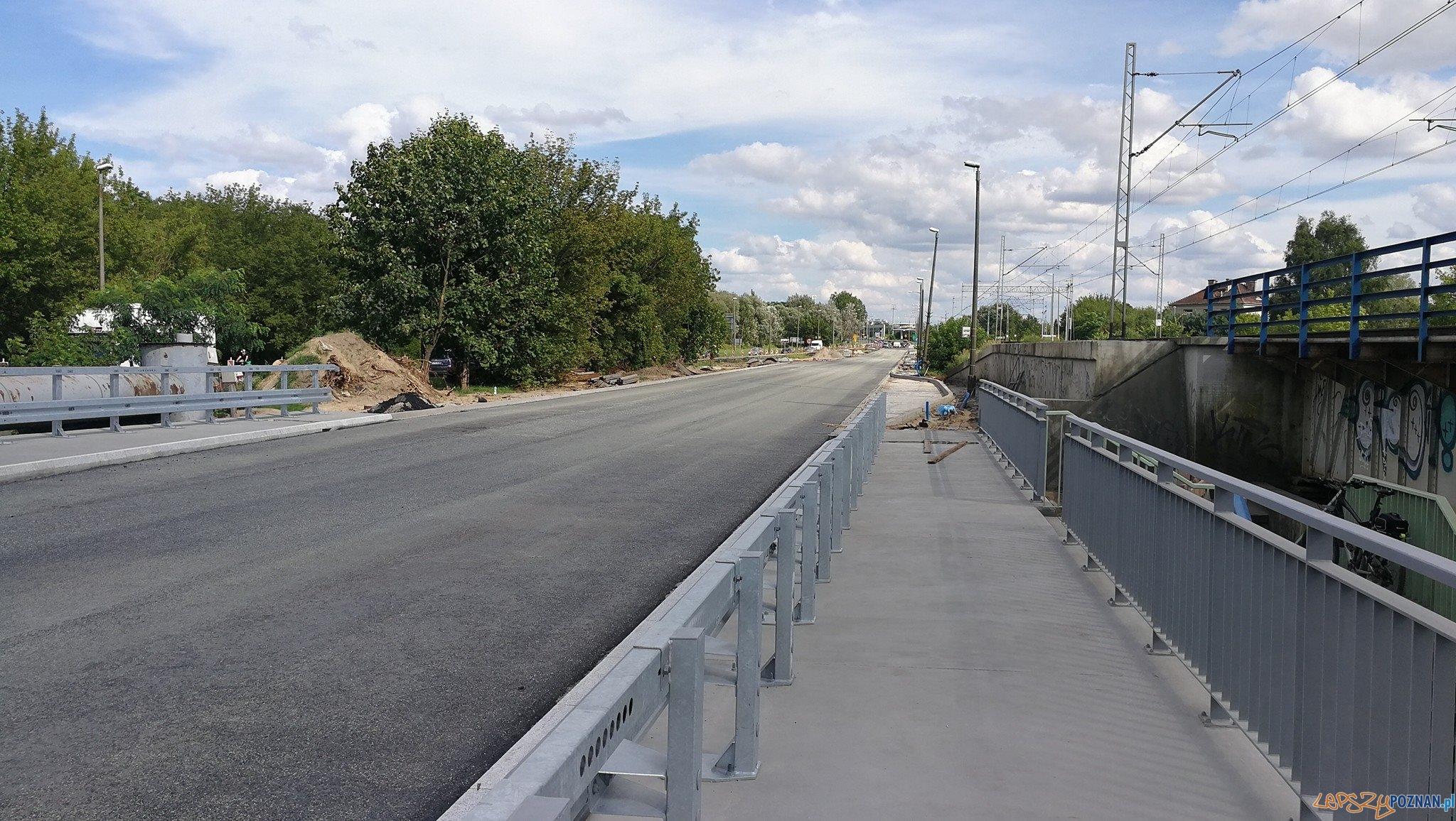 Warszawska - przebudowa mostu na Cybinie  Foto: Maciej Wudarski / UMP