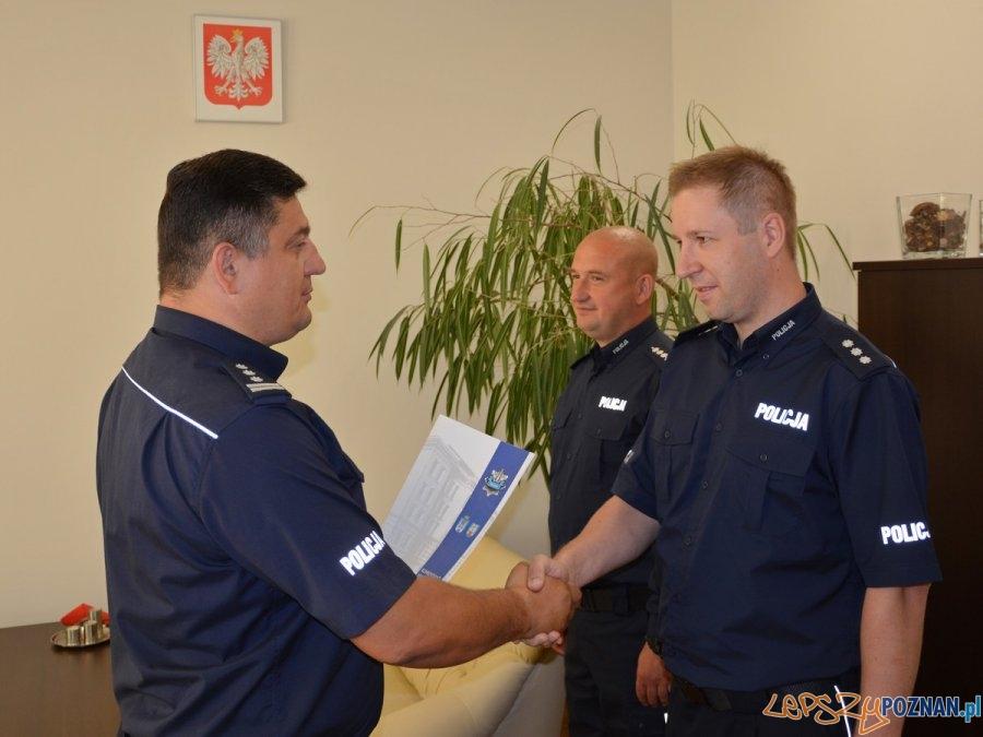 Zmiany kadrowe w poznańskiej Policji  Foto: KMP w Poznaniu