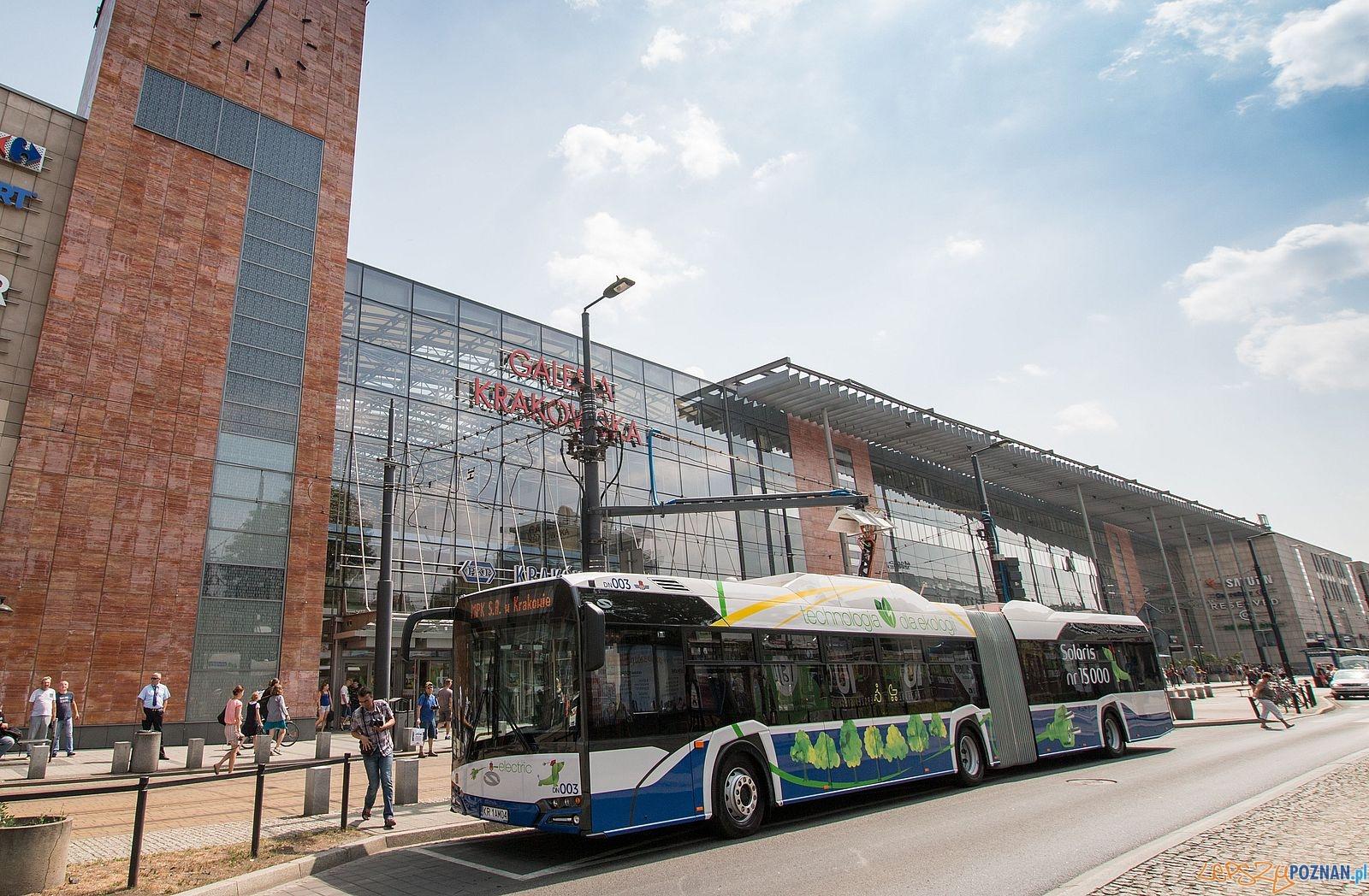 Solaris electric dla Krakowa  Foto: Solaris / materiały prasowe
