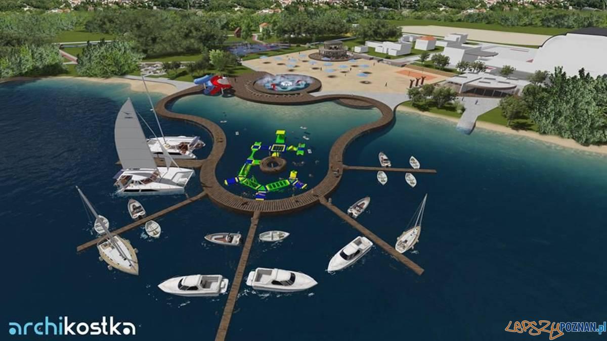 Tak będzie wyglądać kąpielisko w Swarzędzu?  Foto: