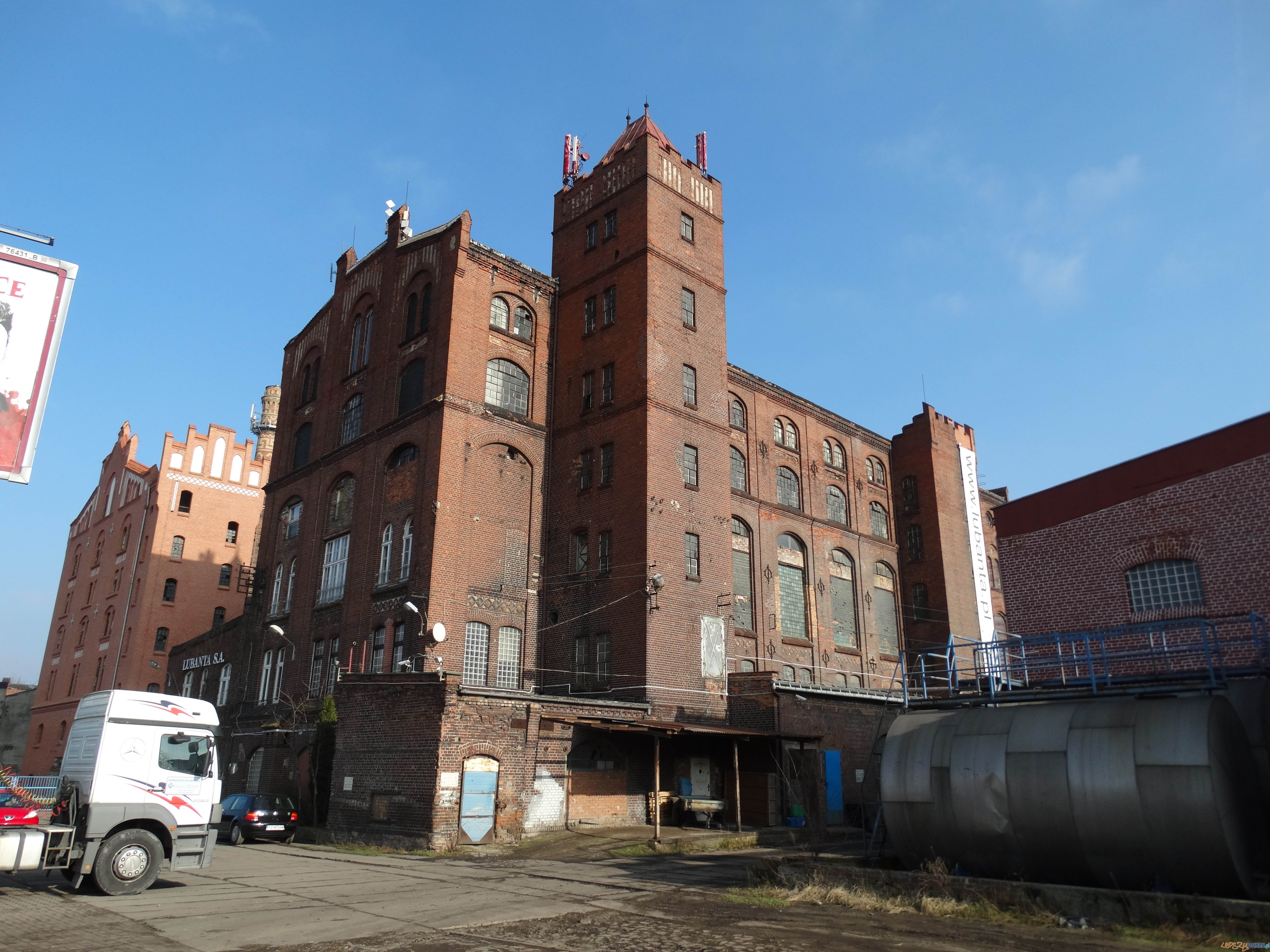 Luboński Szlak Architektury Przemysłowej - Zespół budynków dawnej fabryki drożdży 2  Foto: Luboński Szlak Architektury Przemysłowej