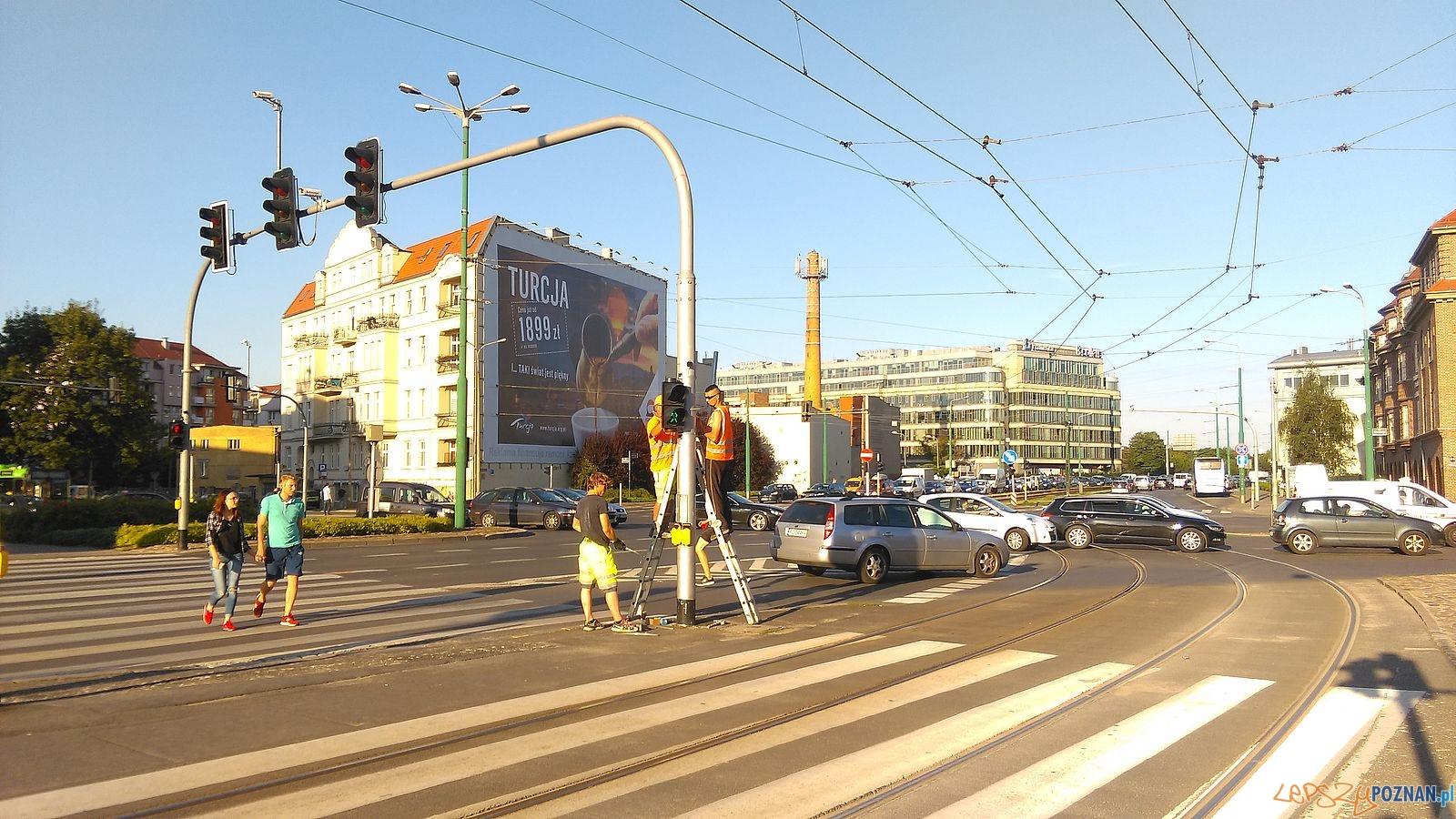 Skrzyżowanie Garbar i Estkowskiego  Foto: Rada Osieda Stare Miasto