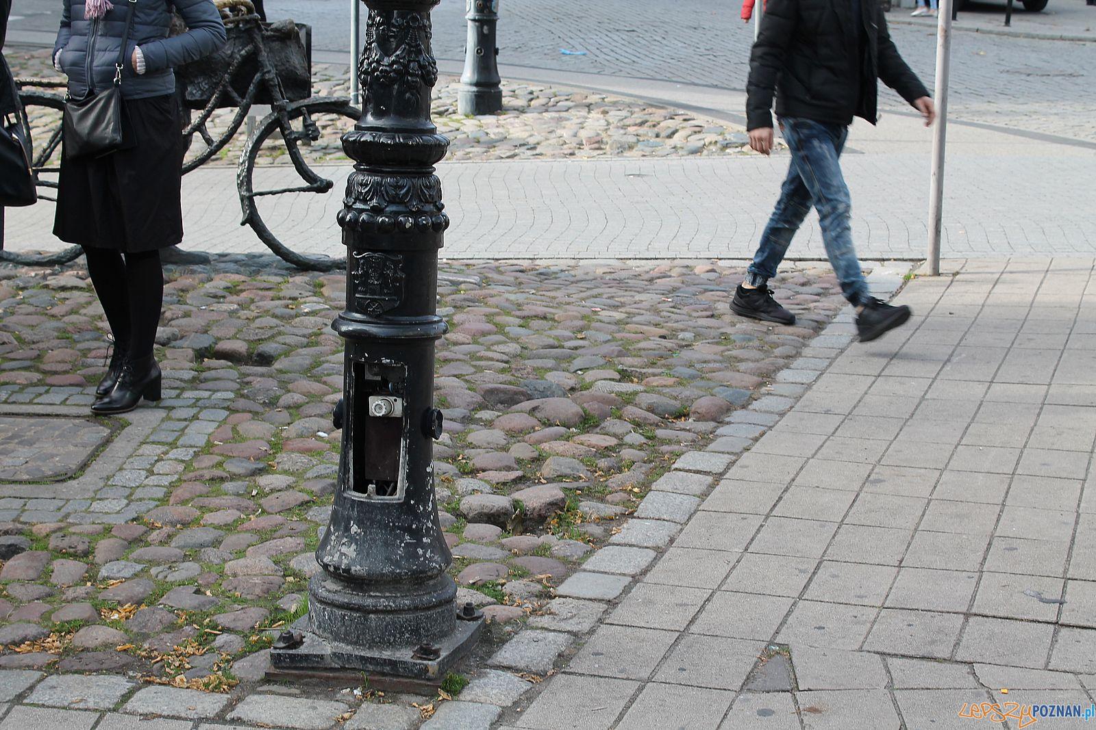 Stary Marych nieporządek wokól pomnika (2)