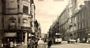 Wielka w stronę Chwaliszewa (1910-11)  Foto: fotopolska