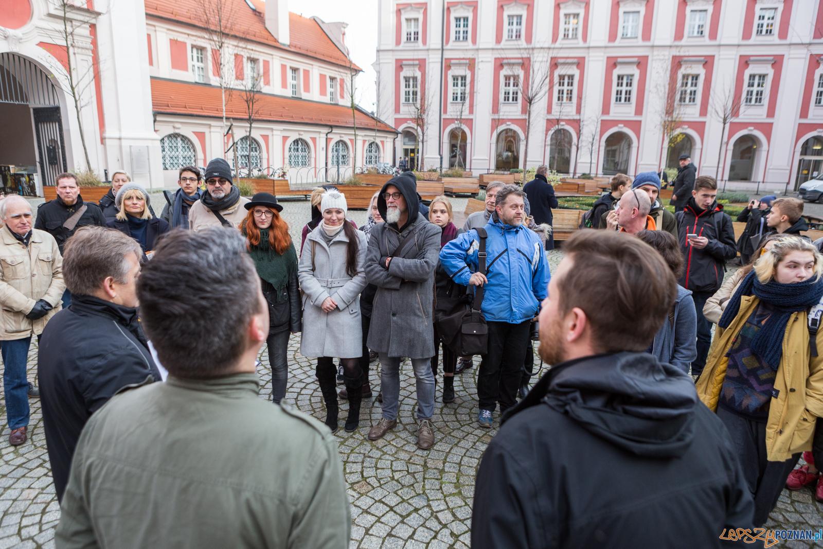 """Wystawa nagrodzonych prac w konkurcie """"Poznaj Poznań. Cooltura"""" - Poznań 23.11.2017 r.  Foto: LepszyPOZNAN.pl / Paweł Rychter"""