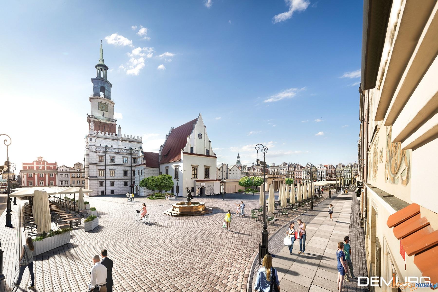 Koncepcja renowacji Starego Rynku  Foto: Demiurg