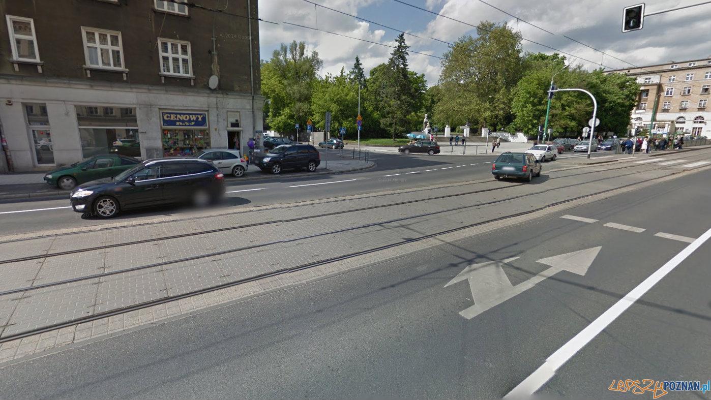 Znika lewoskręt w Berwińskiego  Foto: Google Street View
