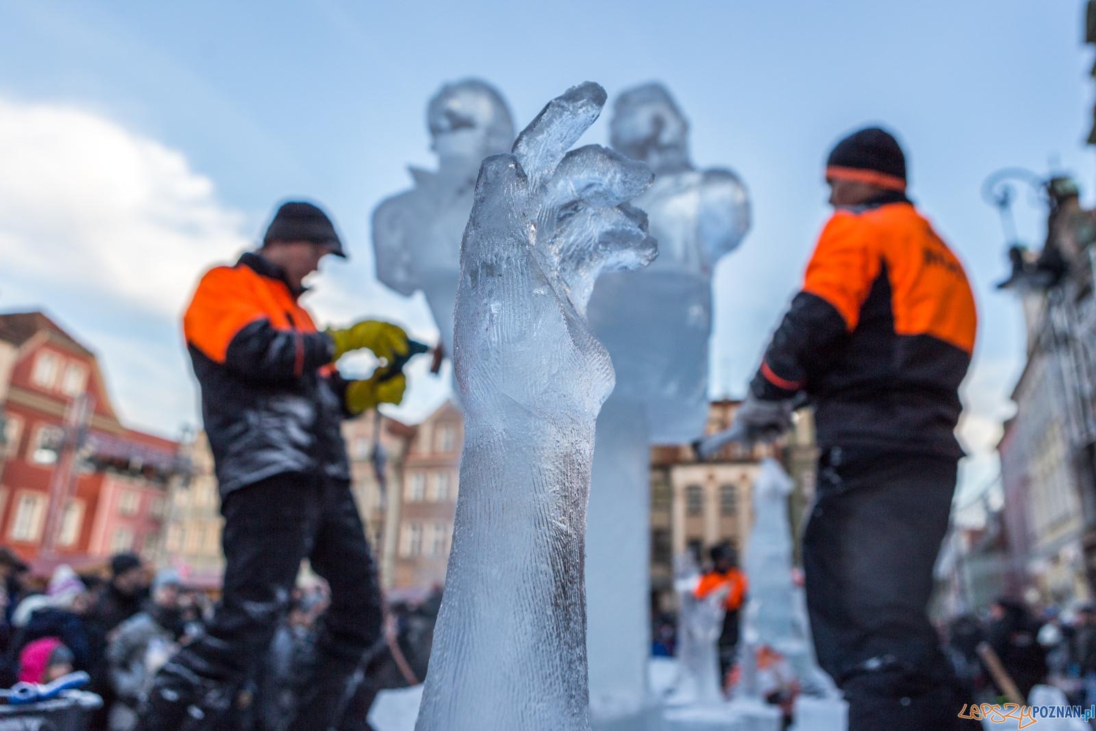 Stihl Poznań Ice Festival 2017 konkurs główny - Poznań 10.12  Foto: LepszyPOZNAN.pl / Paweł Rychter