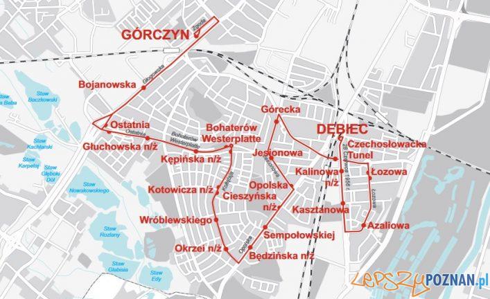 Linia 49 schemat  Foto: ZTM