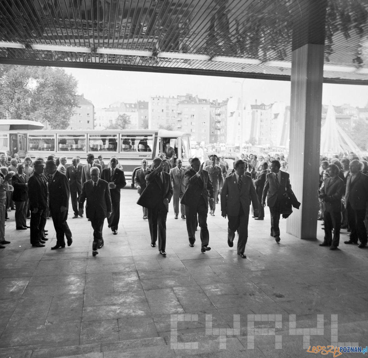 Centralne Dożynki Edward Gierek - 8.09.1974  Foto: Stanisław Wiktor / Cyryl