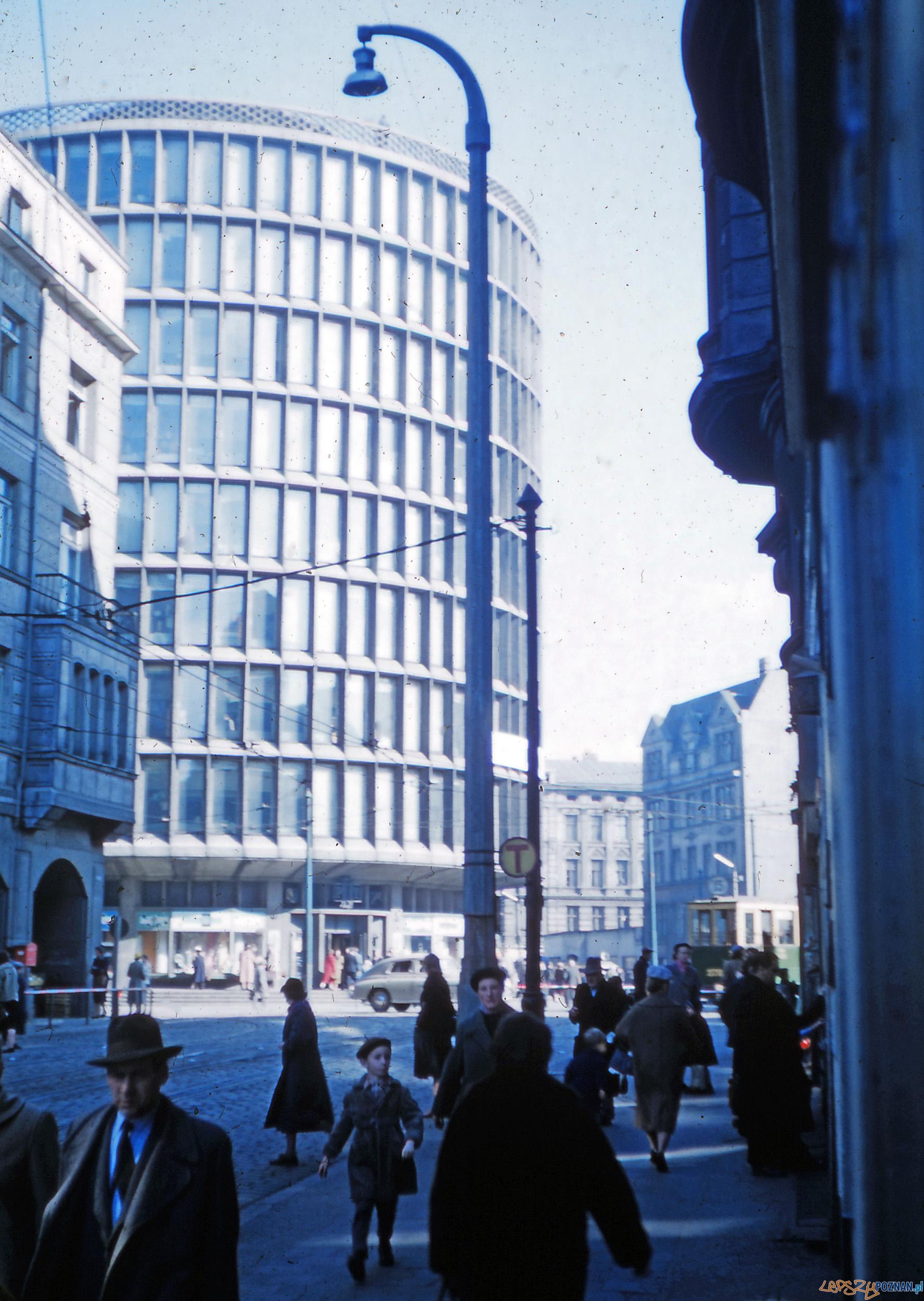Fredry - Okrąglak - koniec lat 50-tych  Foto: Mogens Tørsleff, kolekcja Gorma Rudschinata / Flickr / CC