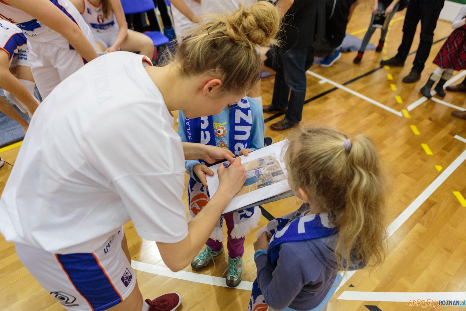 1 liga koszykówki: Enea AZS Poznań - InvestInTheWest AZS AJP G  Foto: LepszyPOZNAN.pl / Paweł Rychter