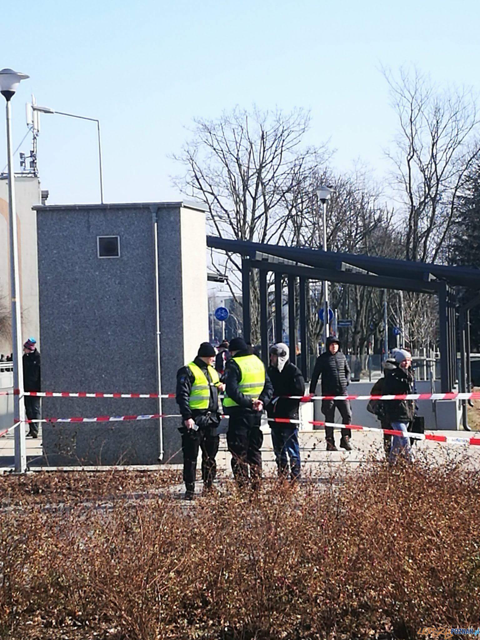 Wybuch gazu na Dębcu  Foto: Straż Miejska