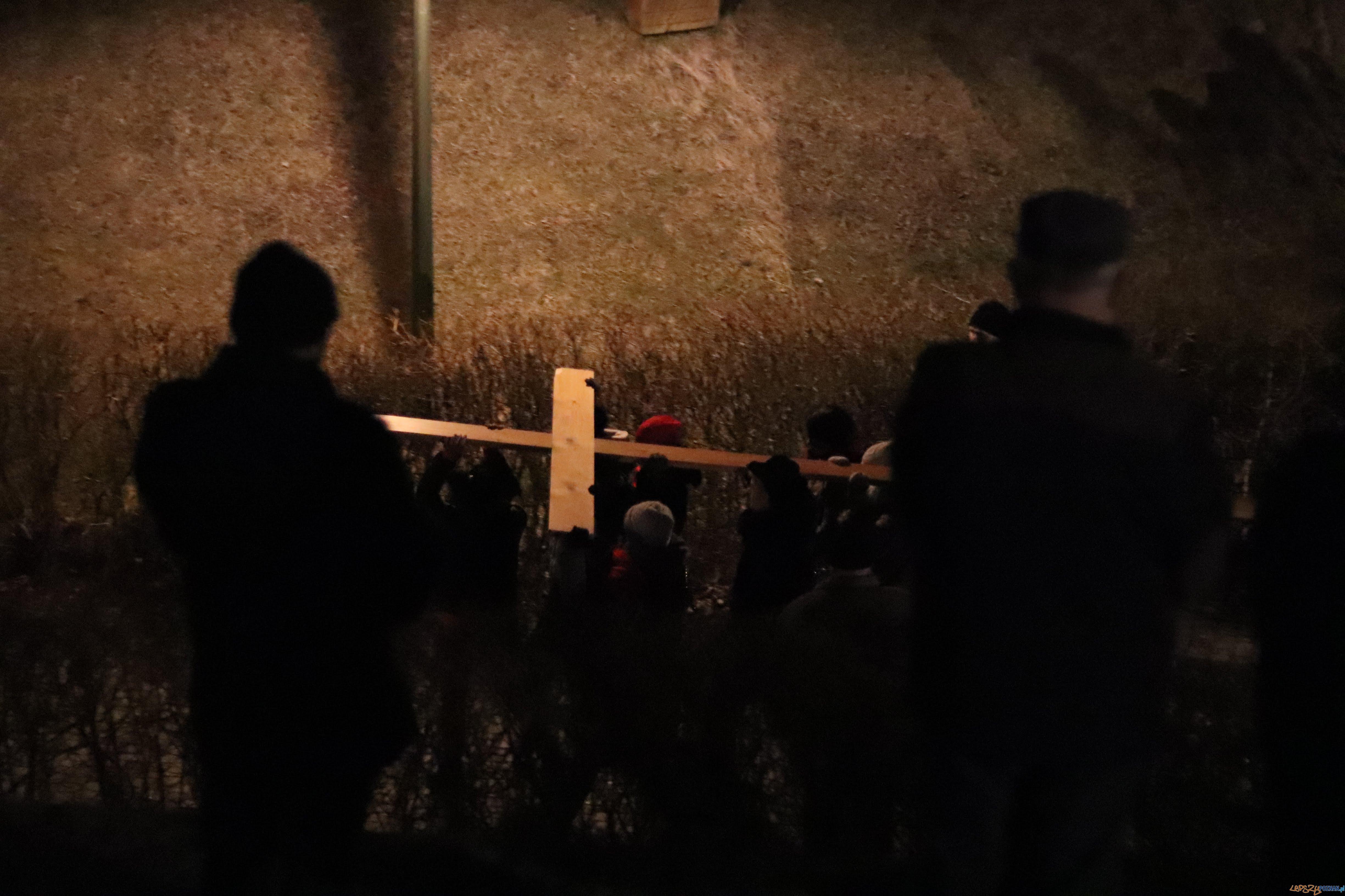 Droga Krzyżowa w Forcie VII  Foto: Sławek Wąchała