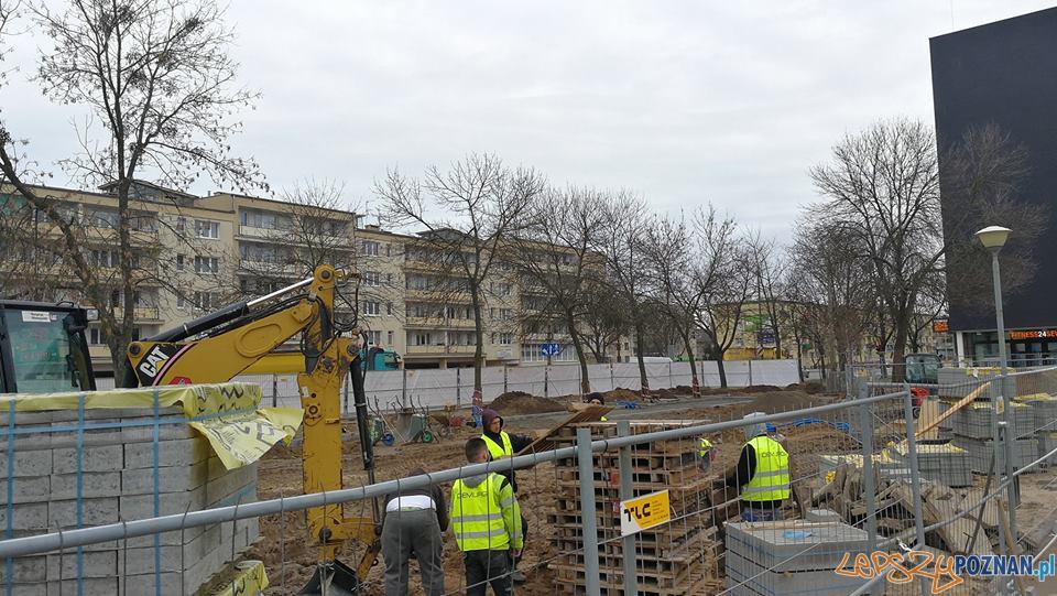 Początek zmian targowiska Świt  Foto: UMP