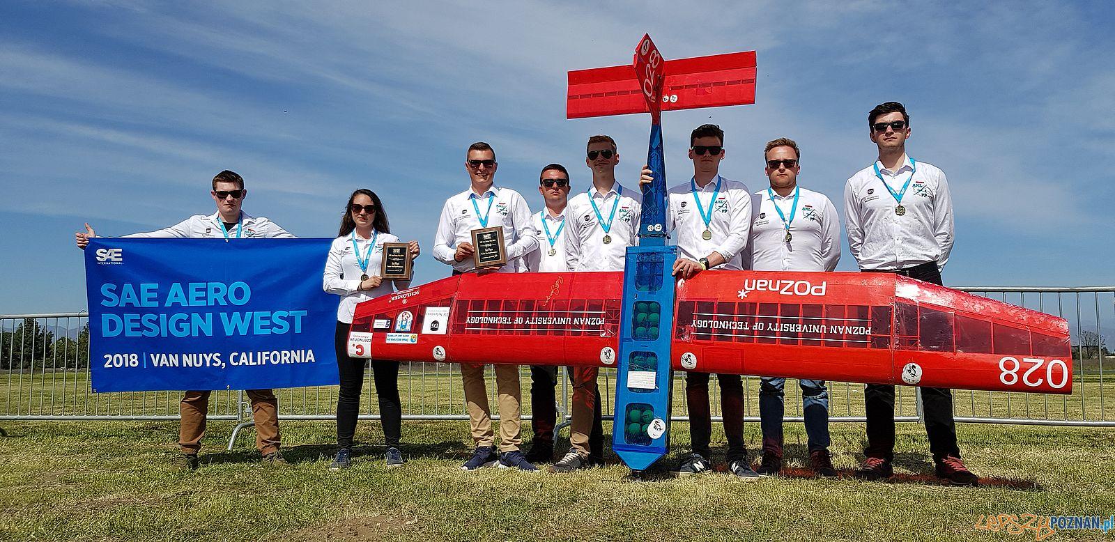 Aero Design - zlote medale studentów Politechniki (3)  Foto: materiały prasowe