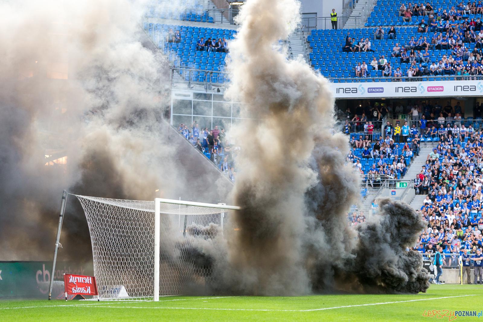 Lech Poznań - Legia Warszawa (zamieszki na stadionie)  Foto: lepszyPOZNAN.pl/Piotr Rychter