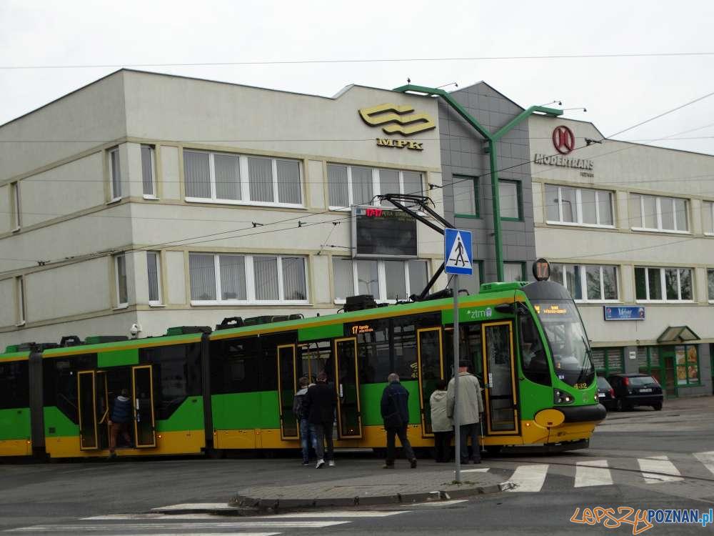 Tramwaj na pętli Staroleka  Foto: Zarząd Transportu Miejskiego
