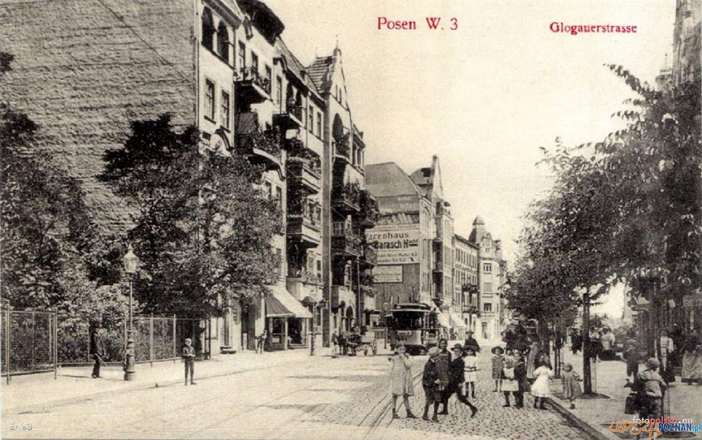 Głogowska 1900- 1910  Foto: fotopolska