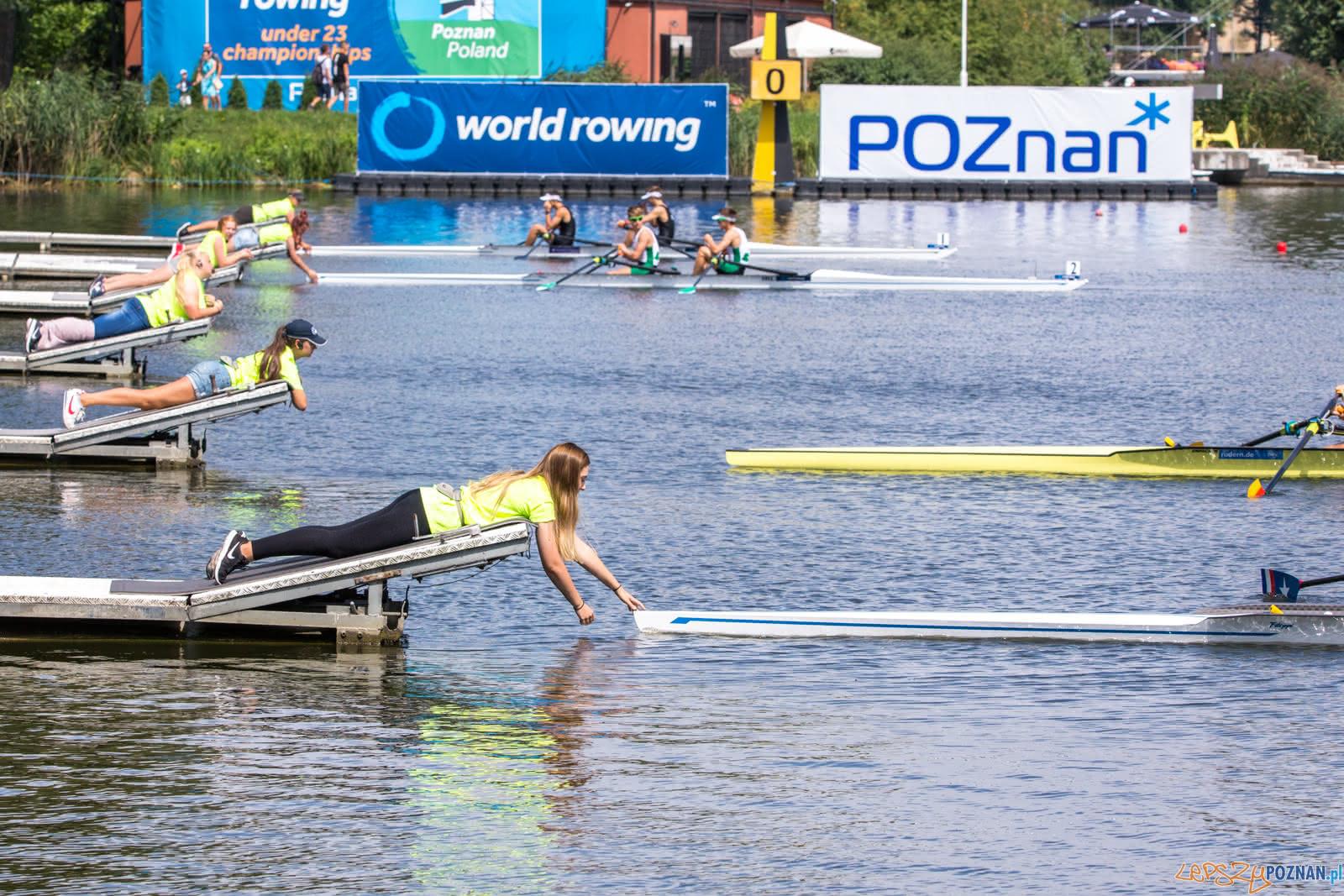 Mistrzostwa Świata U23 w wioślarstwie na poznańskiej Malcie -  Foto: LepszyPOZNAN.pl / Paweł Rychter