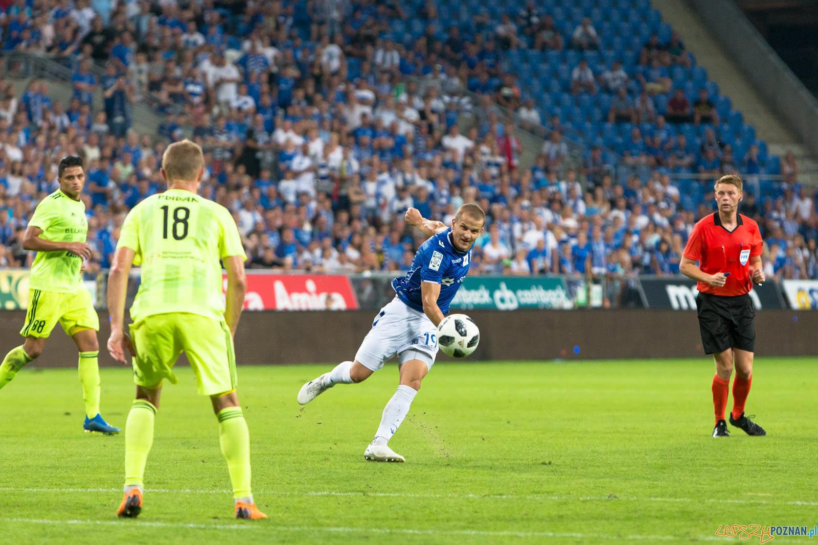 Lech Poznań - FC Shakhtyor Soligorsk (Tomasz Cywka)  Foto: lepszyPOZNAN.pl/Piotr Rychter