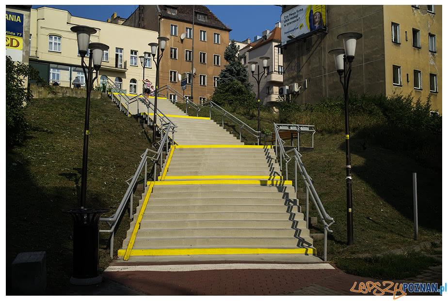 Odświeżone schody na Wildzie  Foto: