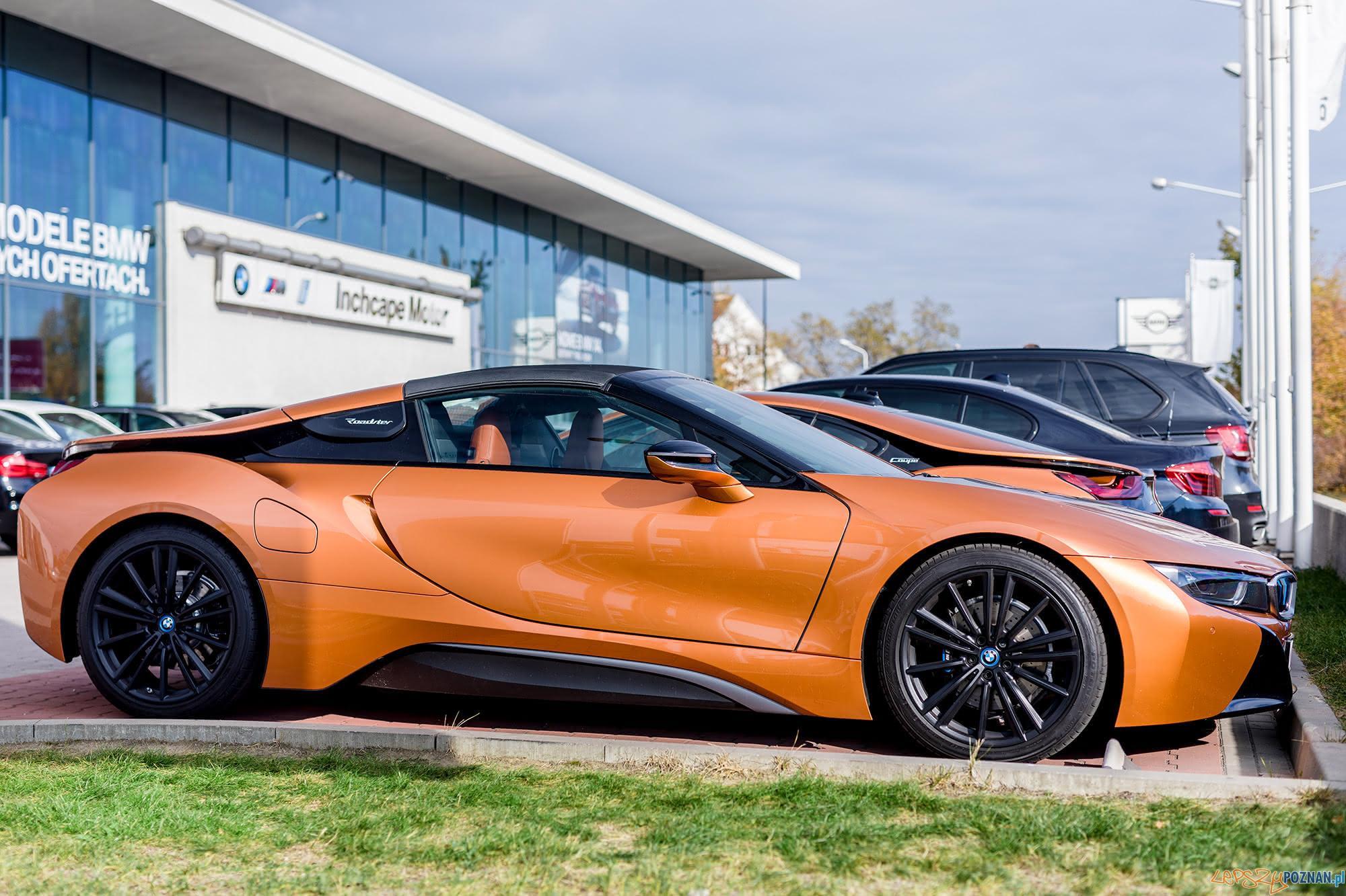 BMW i8 Roadster  Foto: materiały prasowe