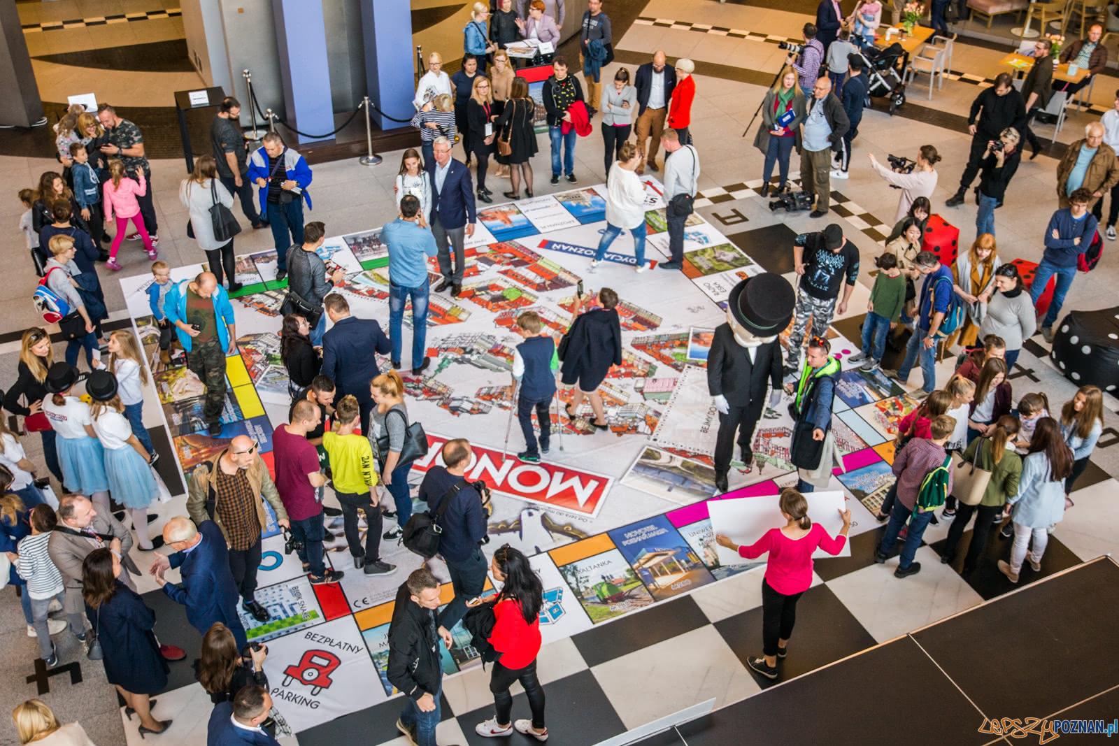 Prezentacja Monopoly Poznań (6.10.2018)  Foto: © Karolina Kiraga