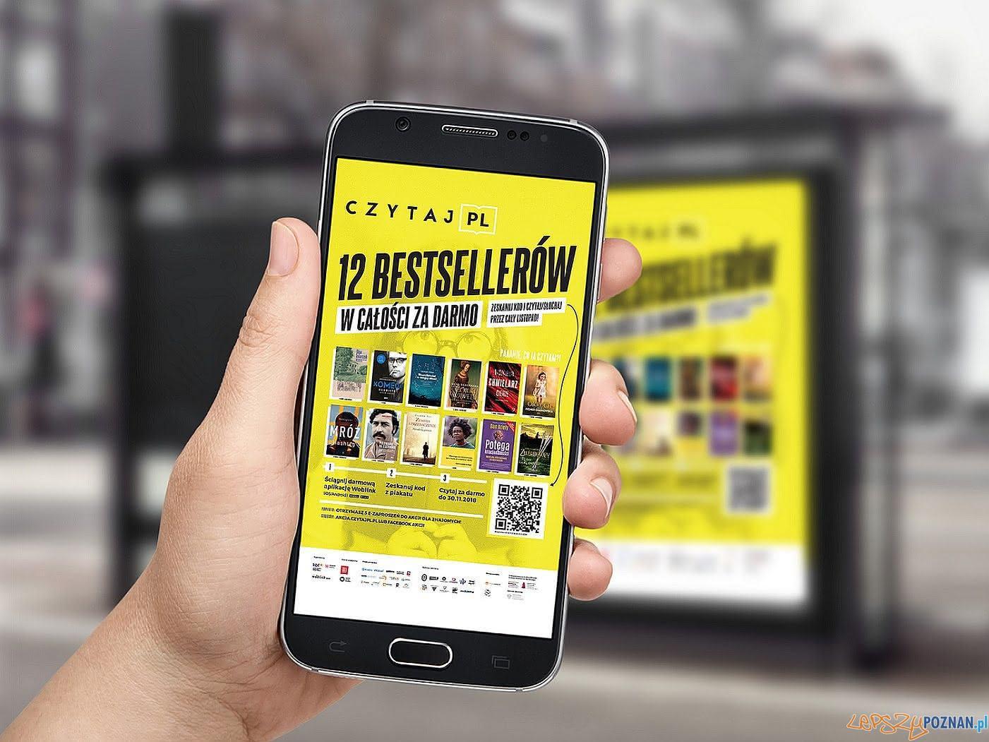 Czytaj PL 2018 - akcja promująca czytelnictwo  Foto: Czytaj PL 2018 - akcja promująca czytelnictwo