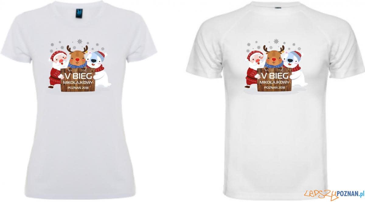 Koszulka biegu mikołajkowego  Foto: materiały informacyjne